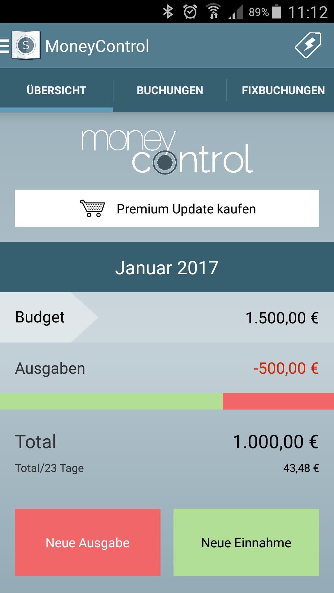 Mit dem Haushaltsbuch durchstarten | Haushaltsbuch MoneyControl - Blog
